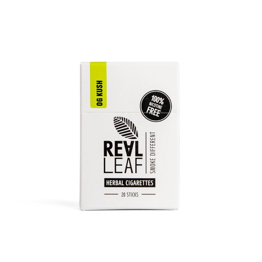 natural cigarettes without nicotine infused with terpenes