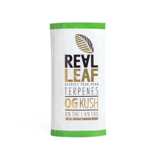 Og kush herbal tobacco by real leaf