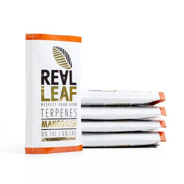 Mango Kush Terpenes Herbal Blends - 5 Packs