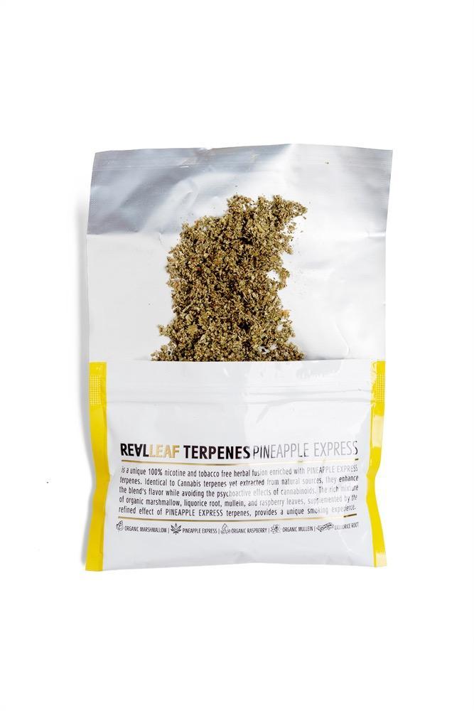 RealLeaf terpenes Herbal smoking blends Pineapple express