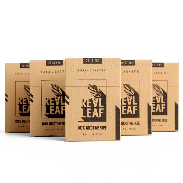 Herbal Cigarettes - 100% Nicotine Free & Tobacco by RealLeaf