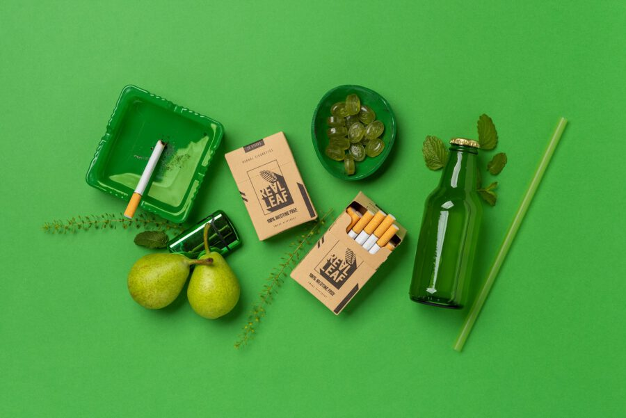Herbal Cigarettes - Made of selected smokable herbs
