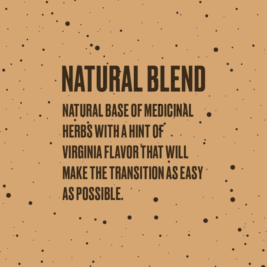herbal tobacco based on medicinal herbs