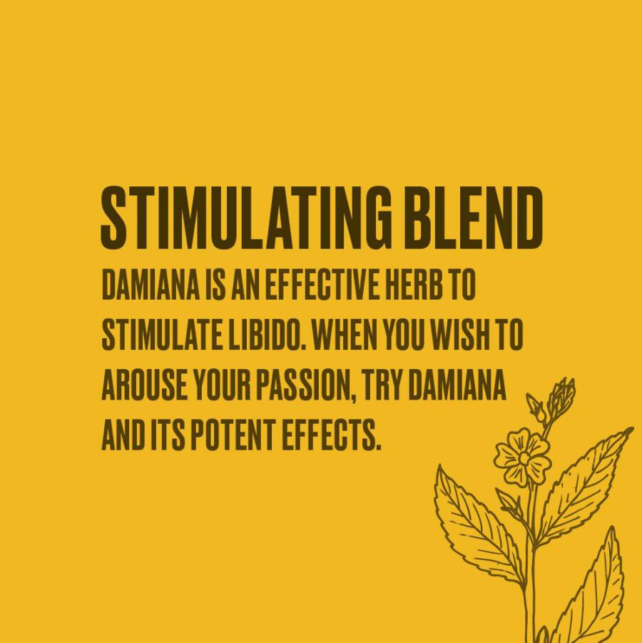 herbal tobacco based on damiana is the best for smoking cannabis with
